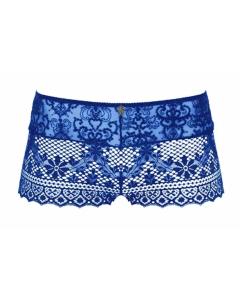 Slipje short Empreinte cassiopee bleu caraibes
