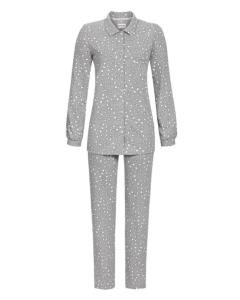 Doorknoop pyjama Ringella popcorn